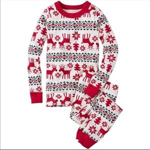 "Hanna Andersson ""Holiday Deer"" pajamas"